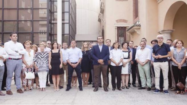 Minuto de silencio en Almería por los atentados de Barcelona