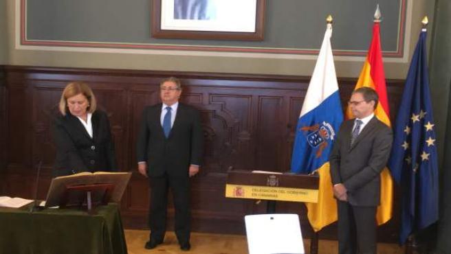 La nueva delegada del Gobierno en Canarias, Mercedes Roldós