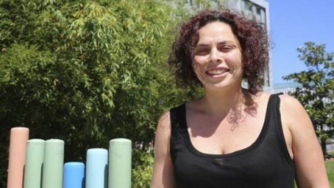 La investigadora de la UPV/EHU patricia Martinez