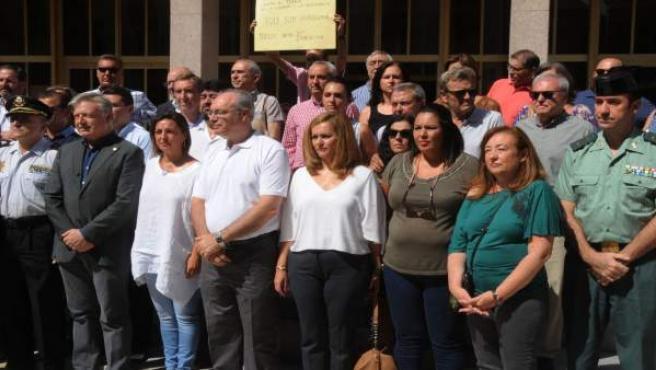 Concentración por el atentado de Barcelona