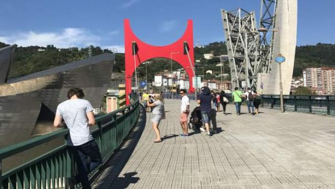 Arcos Rojos en Bilbao