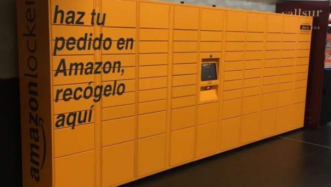 Np Vallsur Instala Un Amazon Locker Como Punto De Recogida De Pedidos