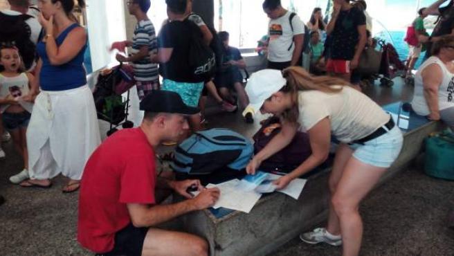 Reclamaciones viaje Illas Cíes