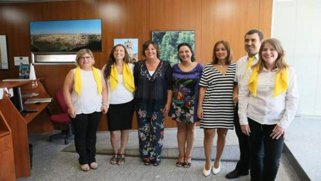 Franco en la Oficina de Turismo de Bisagra