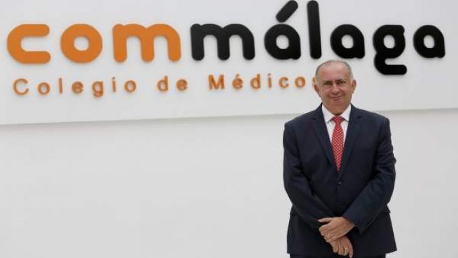 Juan José Sánchez Luque, presidente del Colegio de Médicos de Málaga