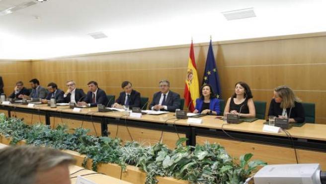Reunión de las fuerzas políticas por el pacto antiyihadista