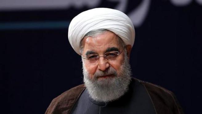 El presidente de Irán, Hassan Rouhani.