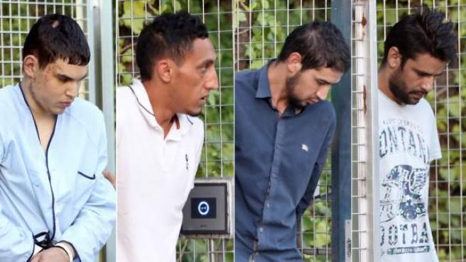 Mohamed Houli Chemlal, Driss Oukabir, Salah El Karib y Mohamed Aallaa, trasladados a la Audiencia Nacional.