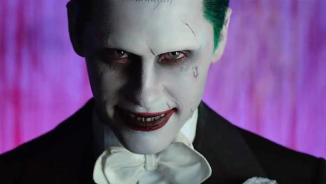 El Joker en la película Escuadrón Suicida.