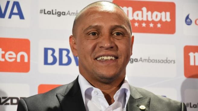 El exfutbolista Roberto Carlos.