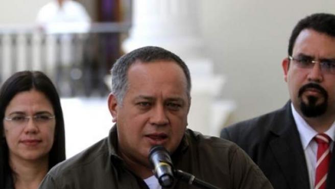 Diosdado Cabello, en una imagen de archivo.