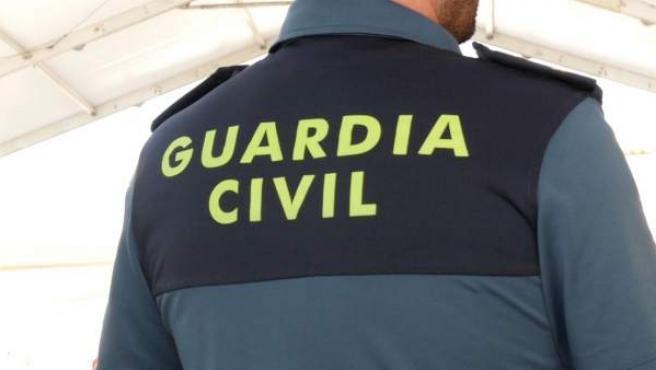 Guardia Civil en sus labores