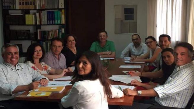 Mesa de trabajo del proyecto para la marca territorial Córdoba