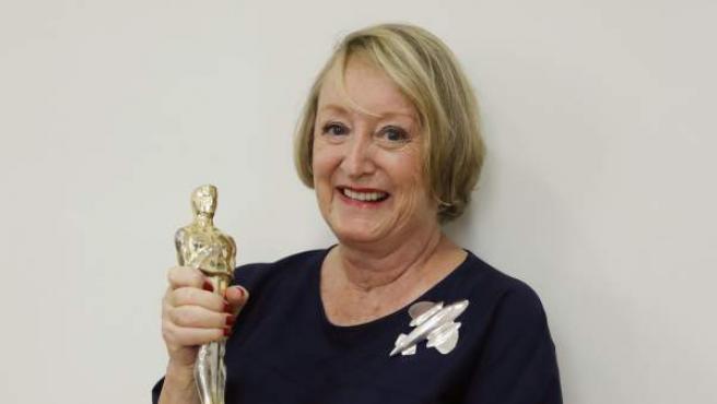 Yvonne Blake, presidenta de la Academia de Cine español.