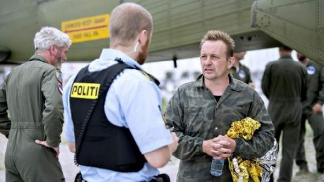 Imagen de Peter Madsen, sospechoso de asesinar a la periodista sueca Kim Wall.