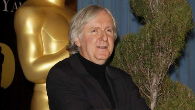 Una imagen del director canadiense James Cameron.