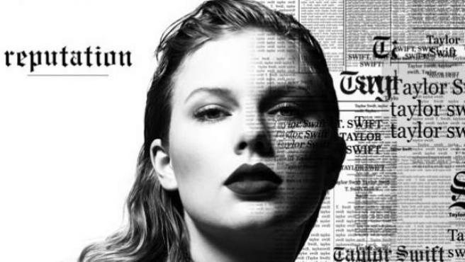 Taylor Swift en su nuevo disco, Reputation.