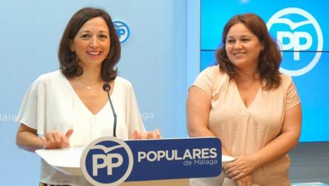 Patricia navarro natacha rivas pp málaga rueda prensa