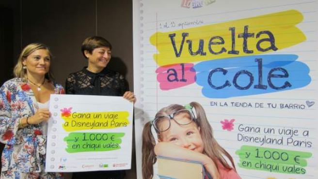 Lacarra y Montes muestran el cartel de la nueva campaña