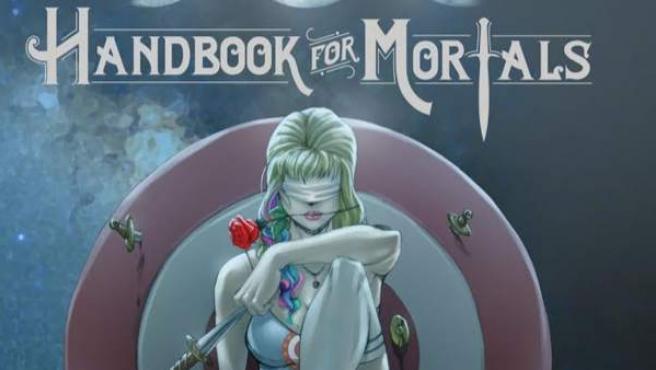 Imagen de la portada del libro 'Handbook for Mortals', de Lani Sarem.