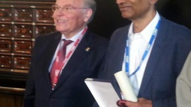 Entrega de la medalla de honor de la UIMP