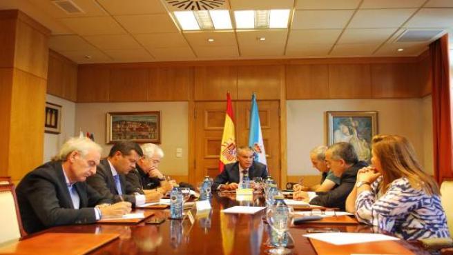 Reunión de seguridad en la Delegación del Gobierno
