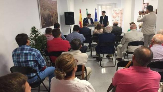 Inauguración de la Casa de la Agricultura de Ibros.