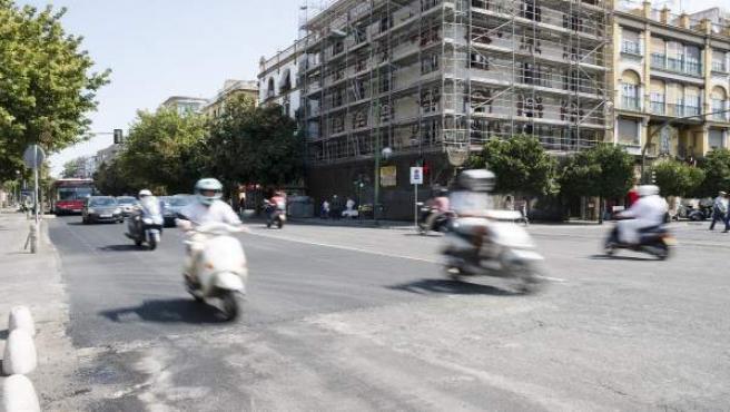 La avenida Menéndez Pelayo.