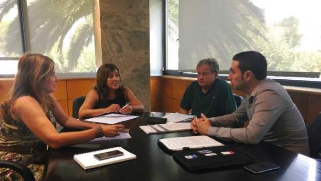 Reunión PP-Federación del Taxi