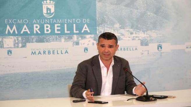 José bernal alcalde de marbella rueda de prensa 170417
