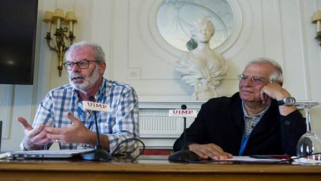 Núñez interviene en la UIMP en el curso que dirige Borrell