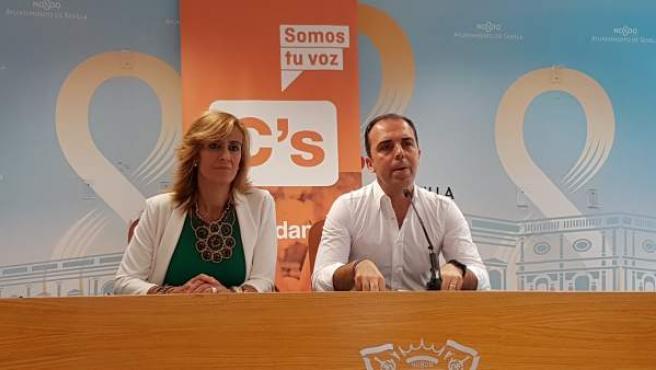 Javier Millán, concejal de Ciudadanos en el Ayuntamiento de Sevilla