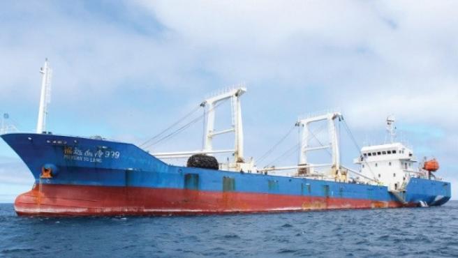 El carguero chino Fu yuan yu leng 999