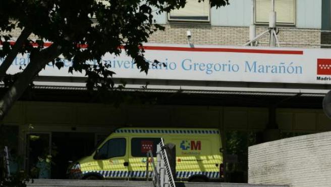 Hospital Gregorio Marañón, en una imagen de archivo.