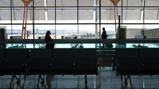 Aeropuerto de Madrid Barajas, T4.