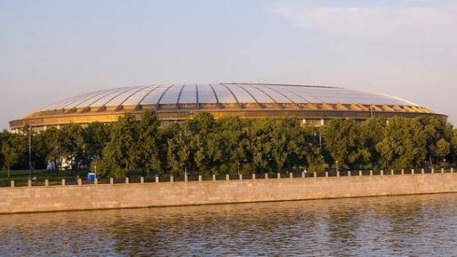 Estadio Olímpico de Luzhniki en Moscú, sede de la final del Mundial 2018.