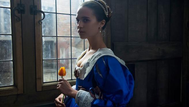 'Tulip Fever': Alicia Vikander desnuda para vender una película de 2014