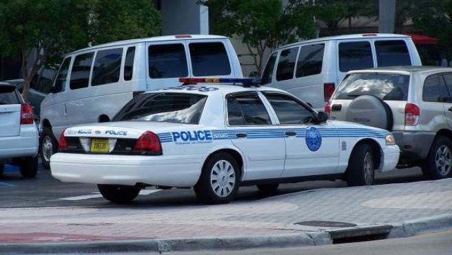 Un coche patrulla de la Policía de EE UU, en una imagen de archivo.