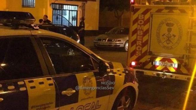 Policía Local y Bomberos de Sevilla