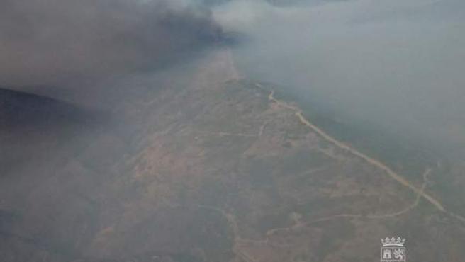 Incendio de Encinedo (León)