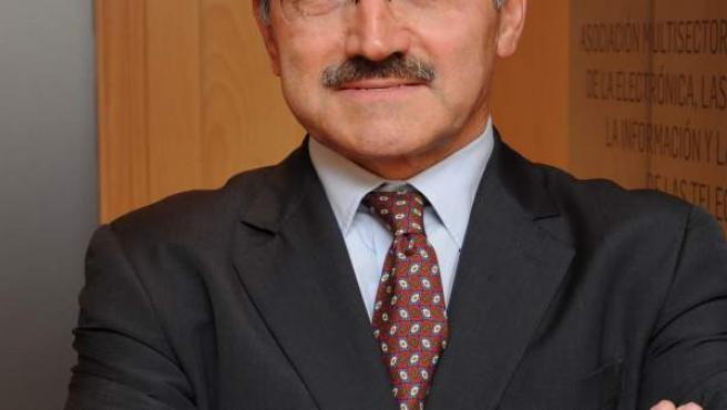 El presidente de Ametic, Pedro Mier