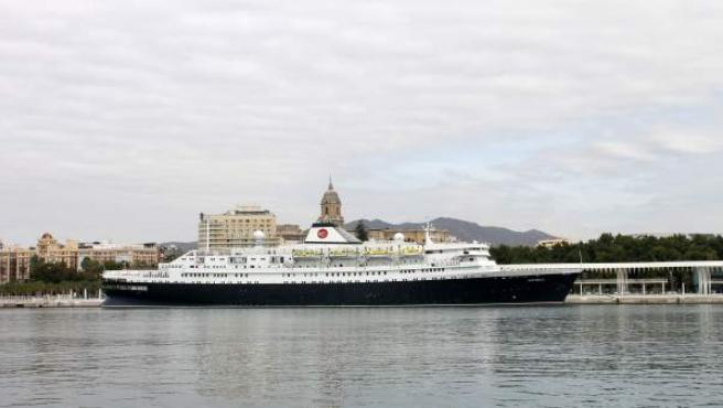 Buque crucero astoria muelle 2 puerto málaga