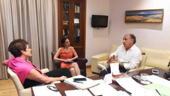 Reunión del alcalde de Algeciras con Acnur
