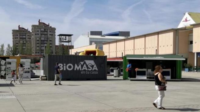 Exposición sobre la Biomasa en la Feria de Muestras