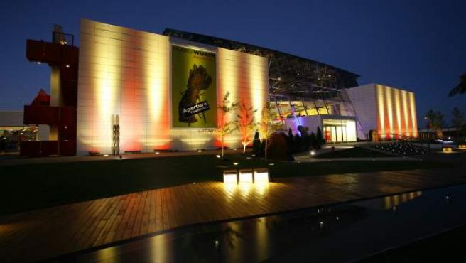 Imagen Nocturna Del Museo Würth