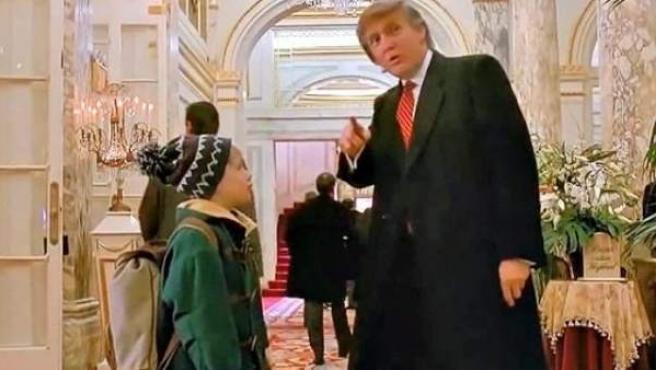 Donald Trump, en su cameo en 'Solo en casa 2'.