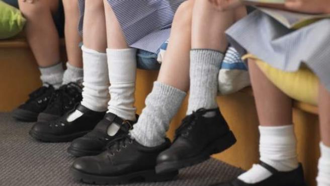 Niños en un colegio, en una imagen de archivo.