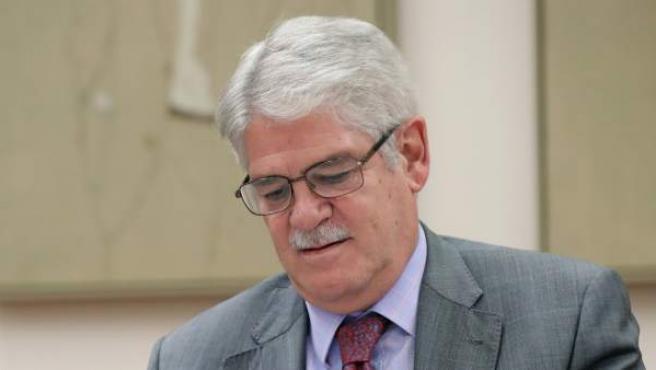 Alfonso Dastis, en el Congreso de los Diputados.