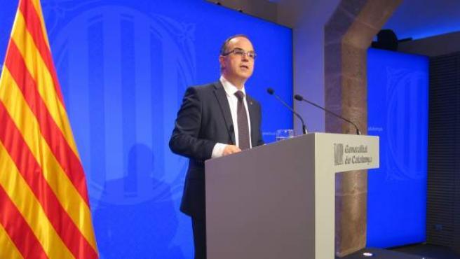 El conseller de Presidencia, Jordi Turull.