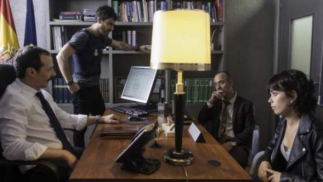 Una imagen de la serie de La 1 'Estoy vivo'.